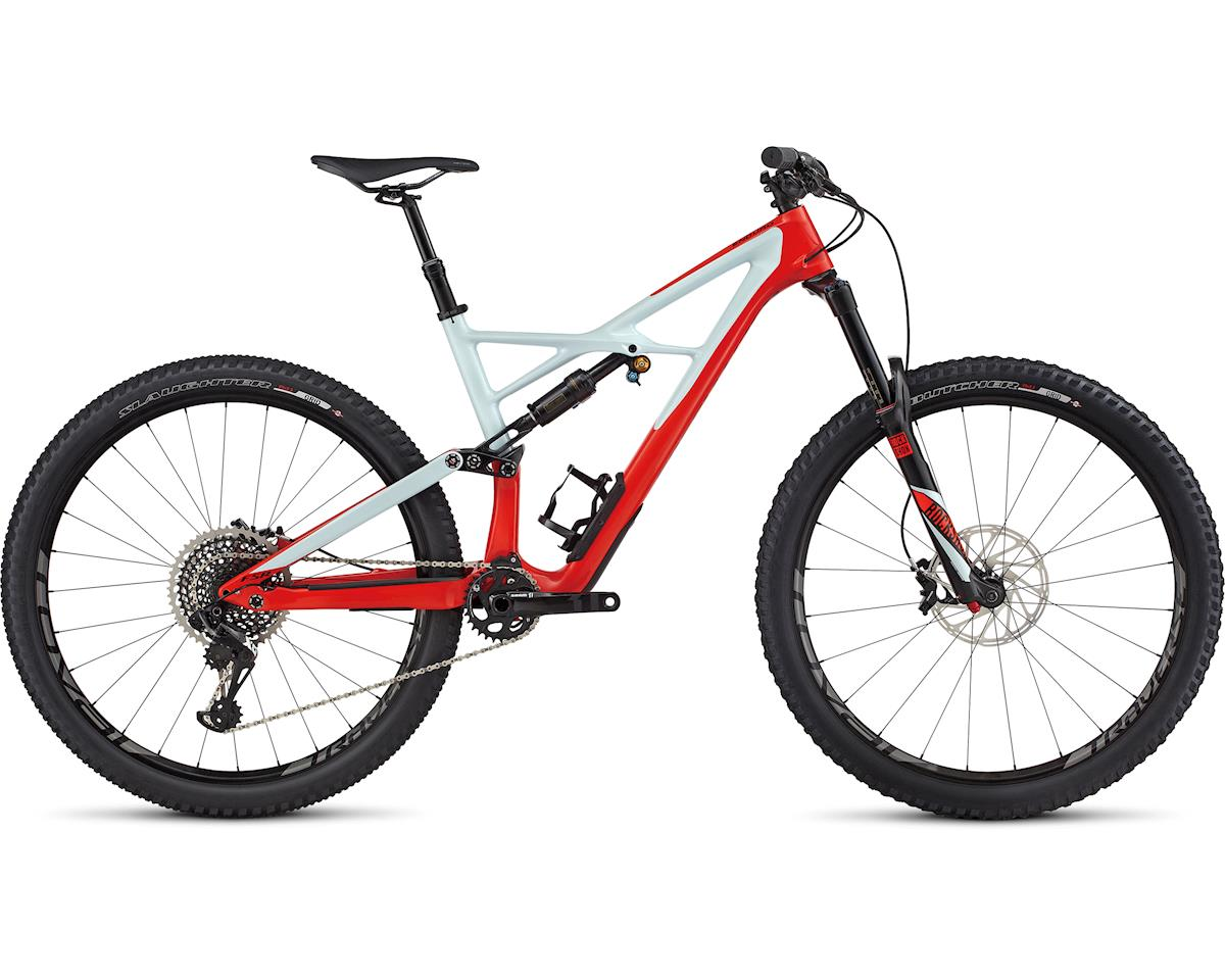 Specialized 2017 Enduro Pro Carbon 29/6Fattie (GLOSS ROCKET RED/BABY BLUE/BLACK)