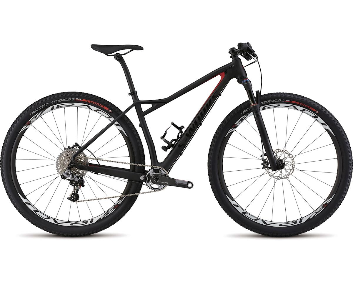 Specialized 2015 S-Works Fate Carbon 29 (Satin Carbon/Gloss Flo Red/Gloss Black) (L)