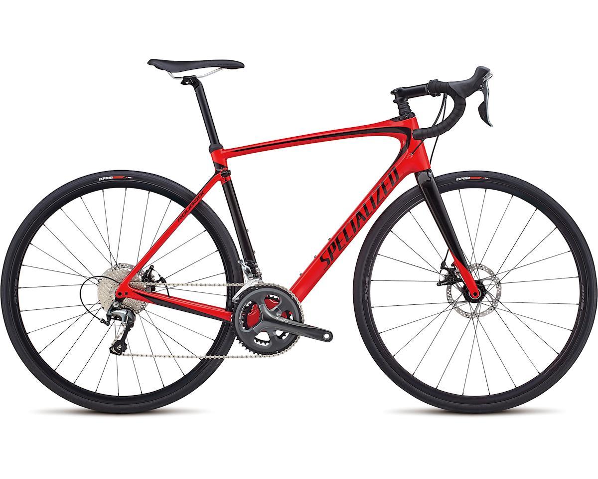 Specialized 2018 Roubaix (Gloss Flo Red / Tarmac Black)