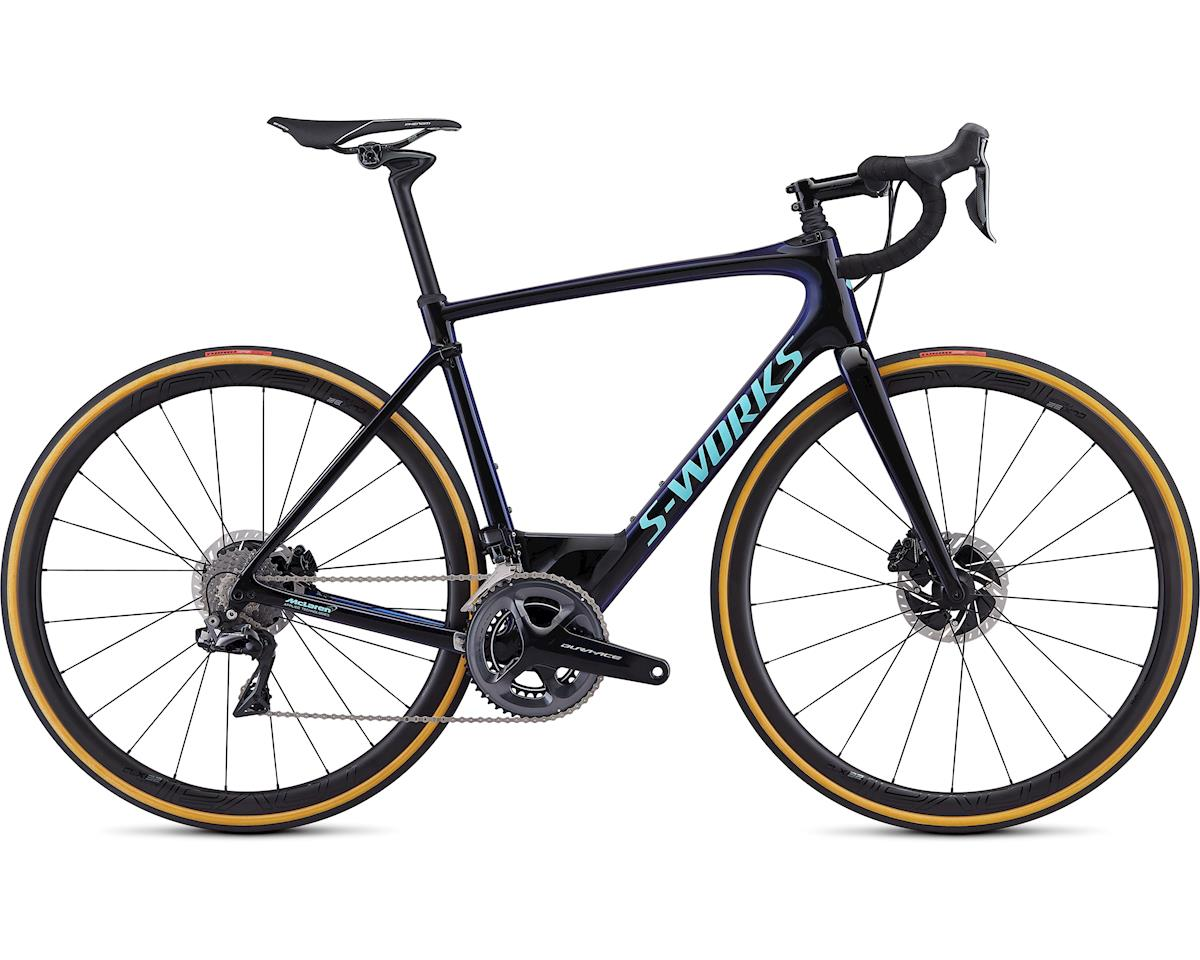 Specialized 2019 S-Works Roubaix (Gloss Black/Chameleon Fade/Light Turquoise) (54)