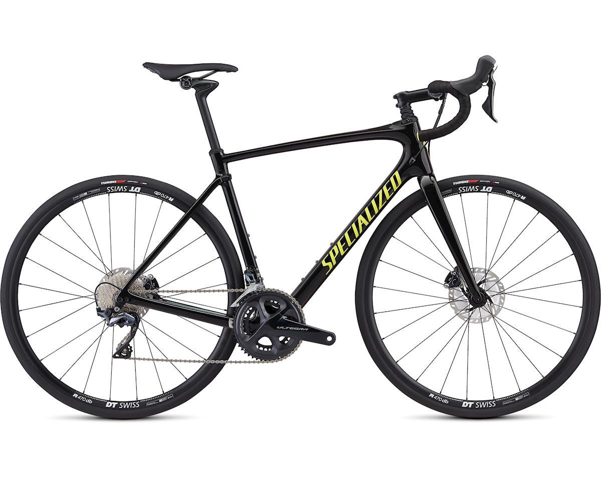 0f785e457c60ea Specialized 2019 Roubaix Comp (Gloss Black Green Chameleon Edge Team Yellow)