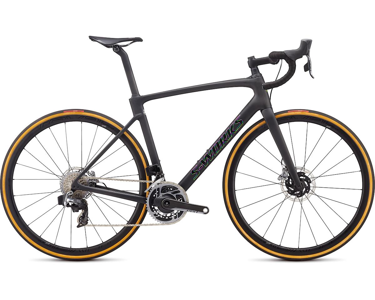 Specialized 2020 S-Works Roubaix -SRAM Red eTAP AXS (Satin Carbon-Tarmac Black Black Crystal Black Reflective)