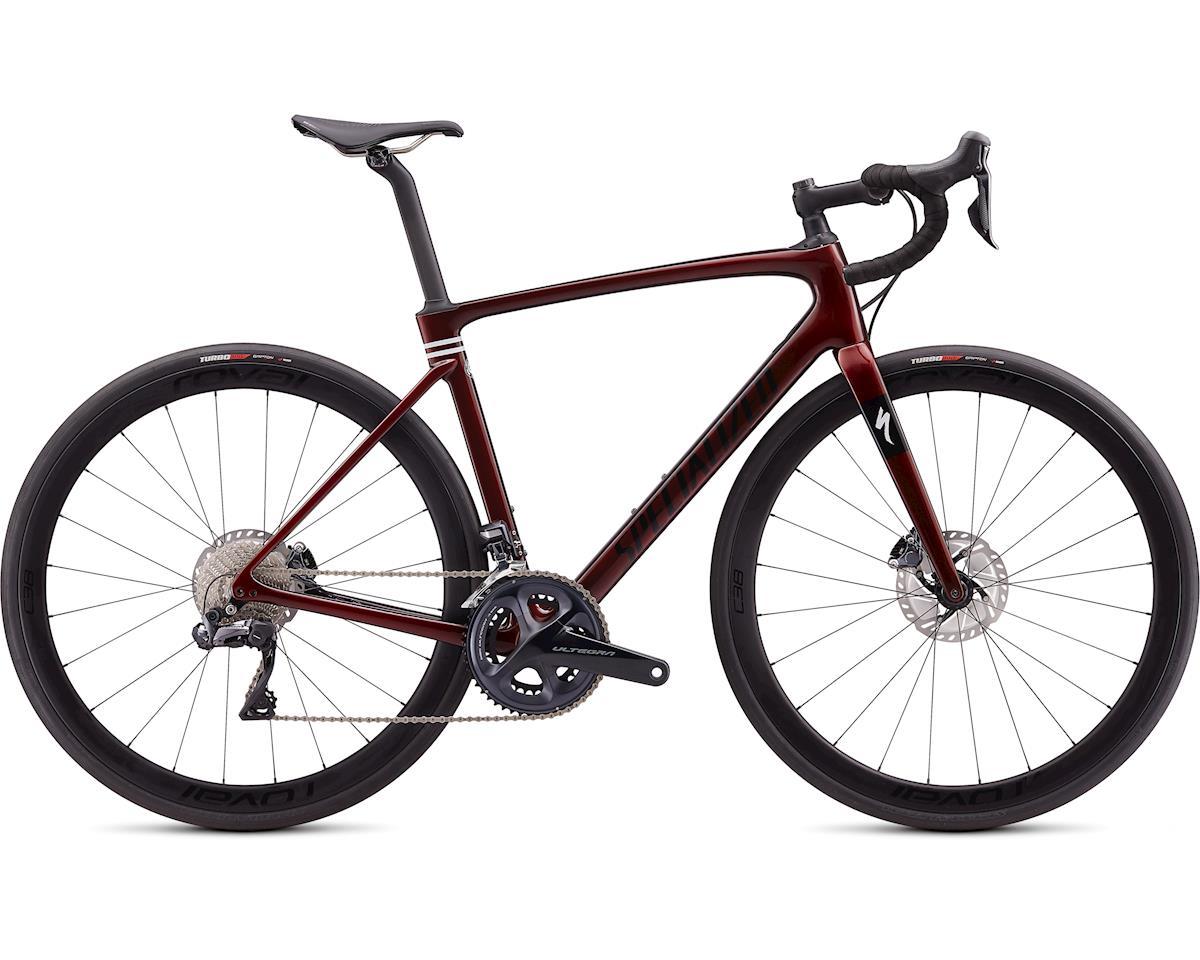 Specialized 2020 Roubaix Expert (Gloss Crimson - Cast Berry Edge Fade/Dove Gray/Black)