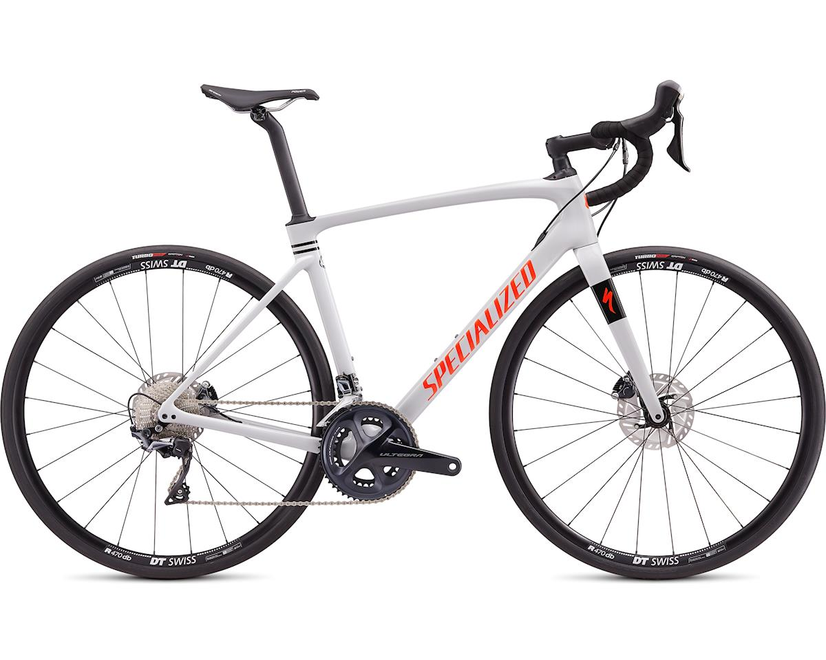 Specialized 2020 Roubaix Comp (Gloss Dove Gray/Crimson-Rocket Red)