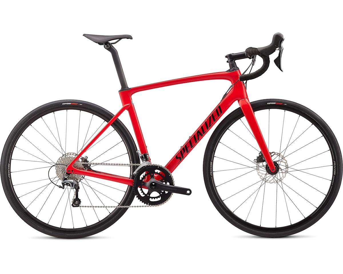 Specialized 2020 Roubaix (Gloss Flo Red w/Blue Ghost Pearl/Tarmac Black)