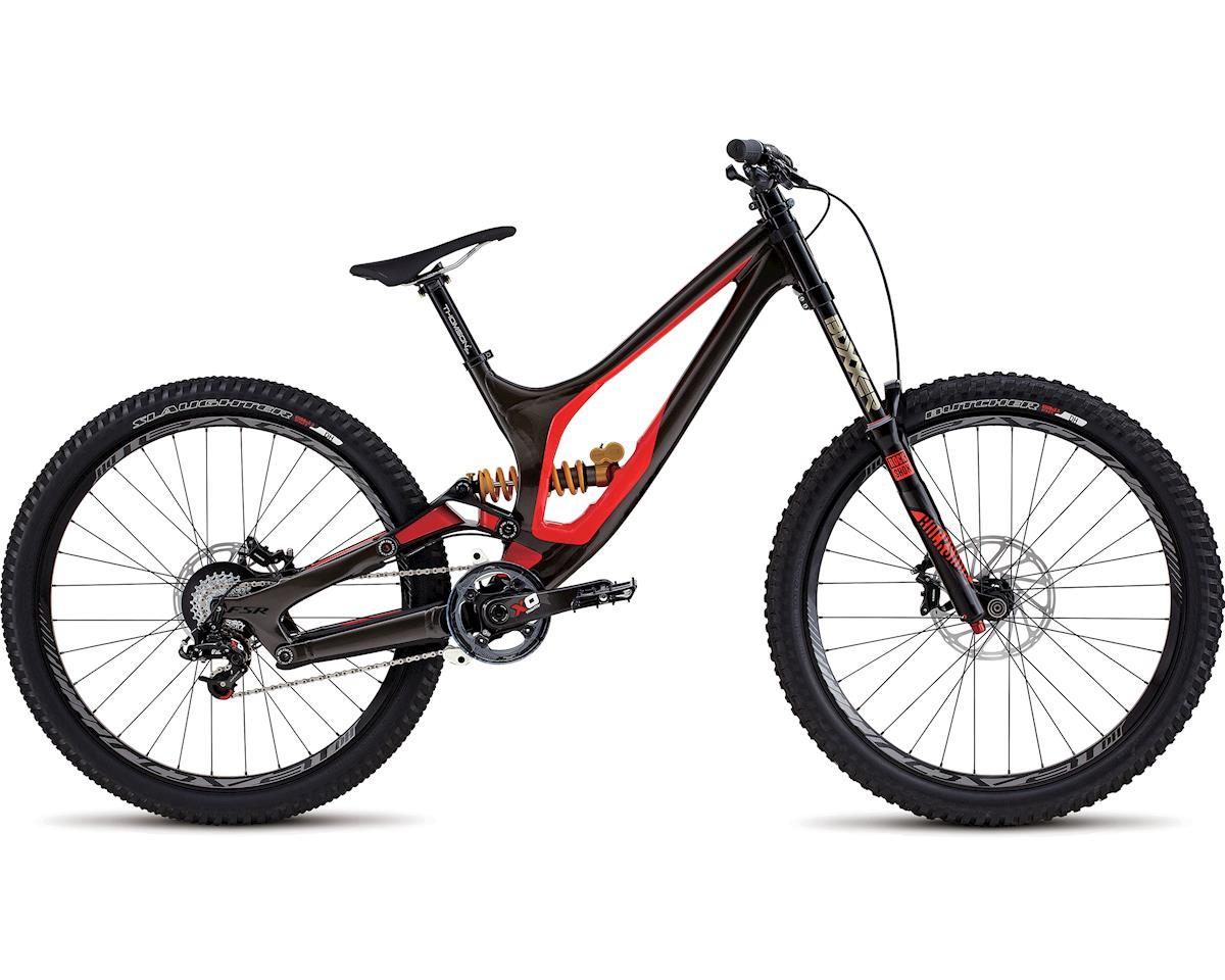 Specialized 2017 Demo 8 II Alloy (GLOSS WARM CHARCOAL / ROCKET RED / BLACK) (MEDIUM)