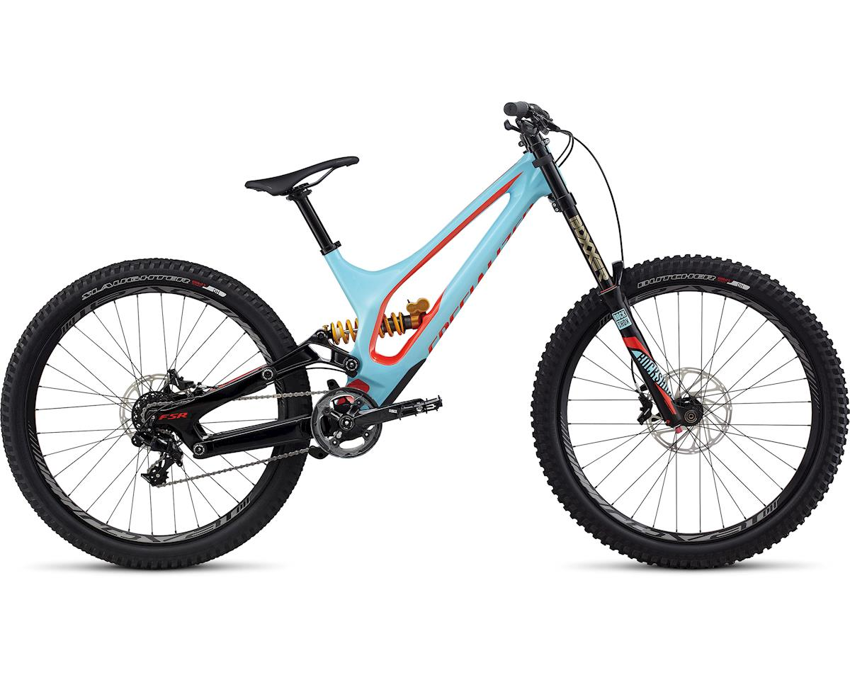 Specialized 2017 demo 8 i carbon gloss light blue nordic red