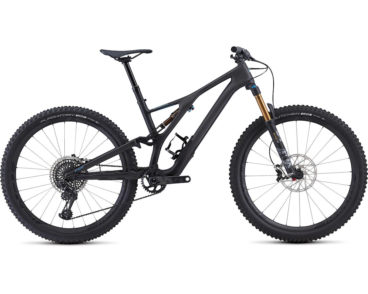 Specialized 2019 Men's S-Works Stumpjumper ST 27.5 (Satin/Carbon/Storm Grey)