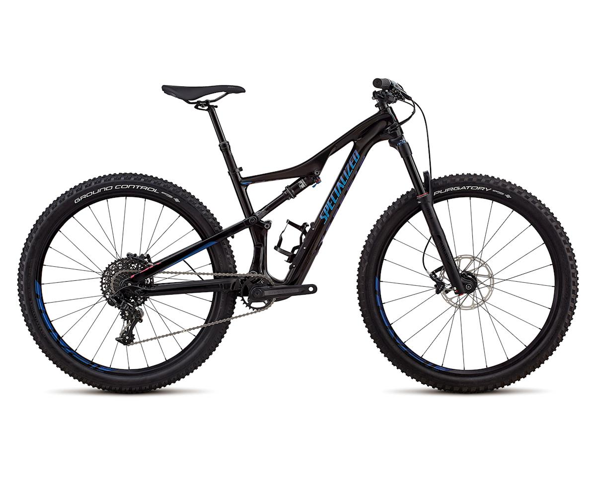 Specialized 2018 Women's Camber Comp Carbon 27.5 (Gloss Black Tint Carbon / Chameleon Decals)