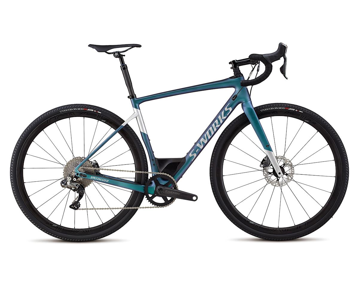Specialized 2018 Men's S-Works Diverge (Satin Gloss Oil/ Gloss Light Silver)