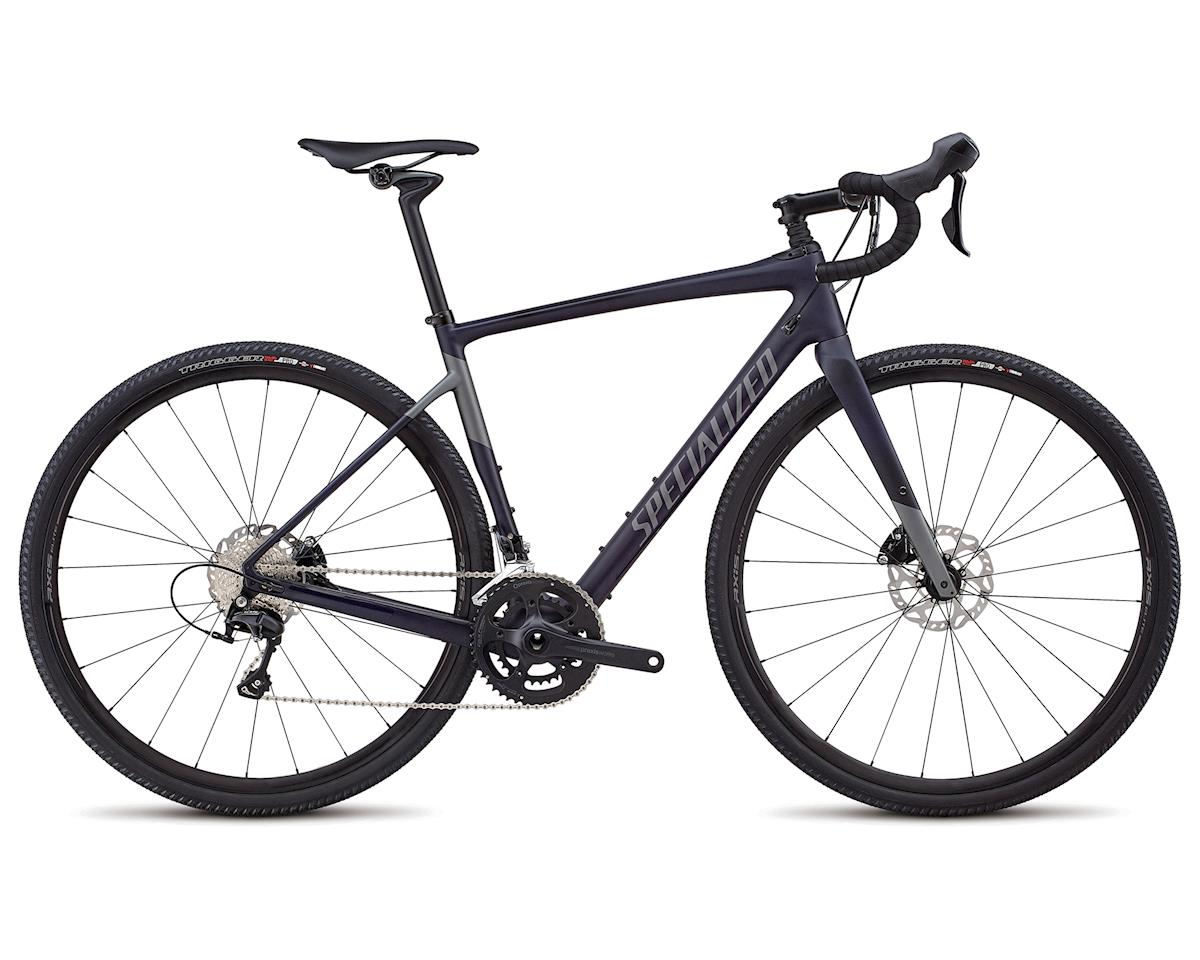 Specialized 2018 Men's Diverge Comp (Satin Blue Tint/Charcoal)