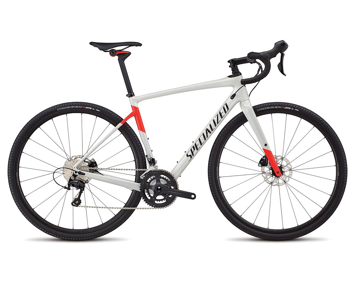 Specialized 2018 Men's Diverge Comp (Gloss Dirty White/Rocket Red/Tarmac Black)