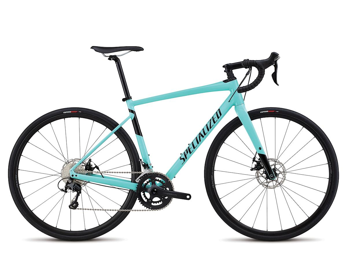Specialized 2018 Men's Diverge Comp E5 (Gloss Light Turquoise/Tarmac Black)