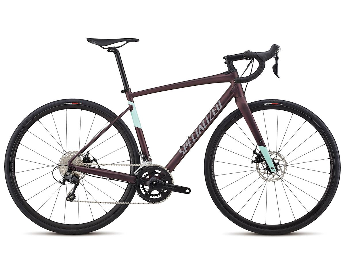 Specialized 2018 Women's Diverge E5 Comp (Satin Cast Berry/Mint)