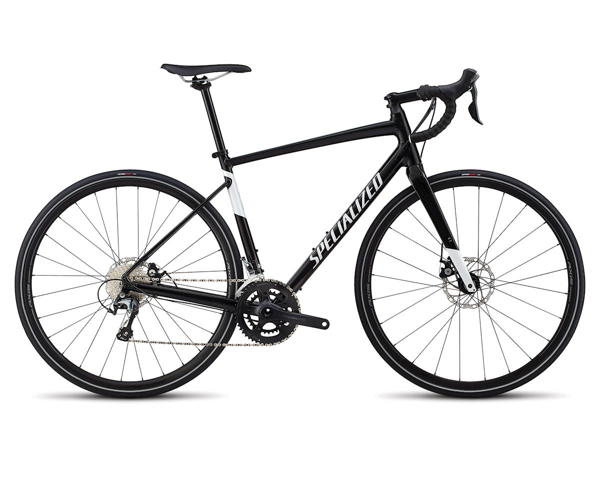 Specialized 2018 Men's Diverge E5 Elite (Gloss Tarmac Black/Metallic White Silver)