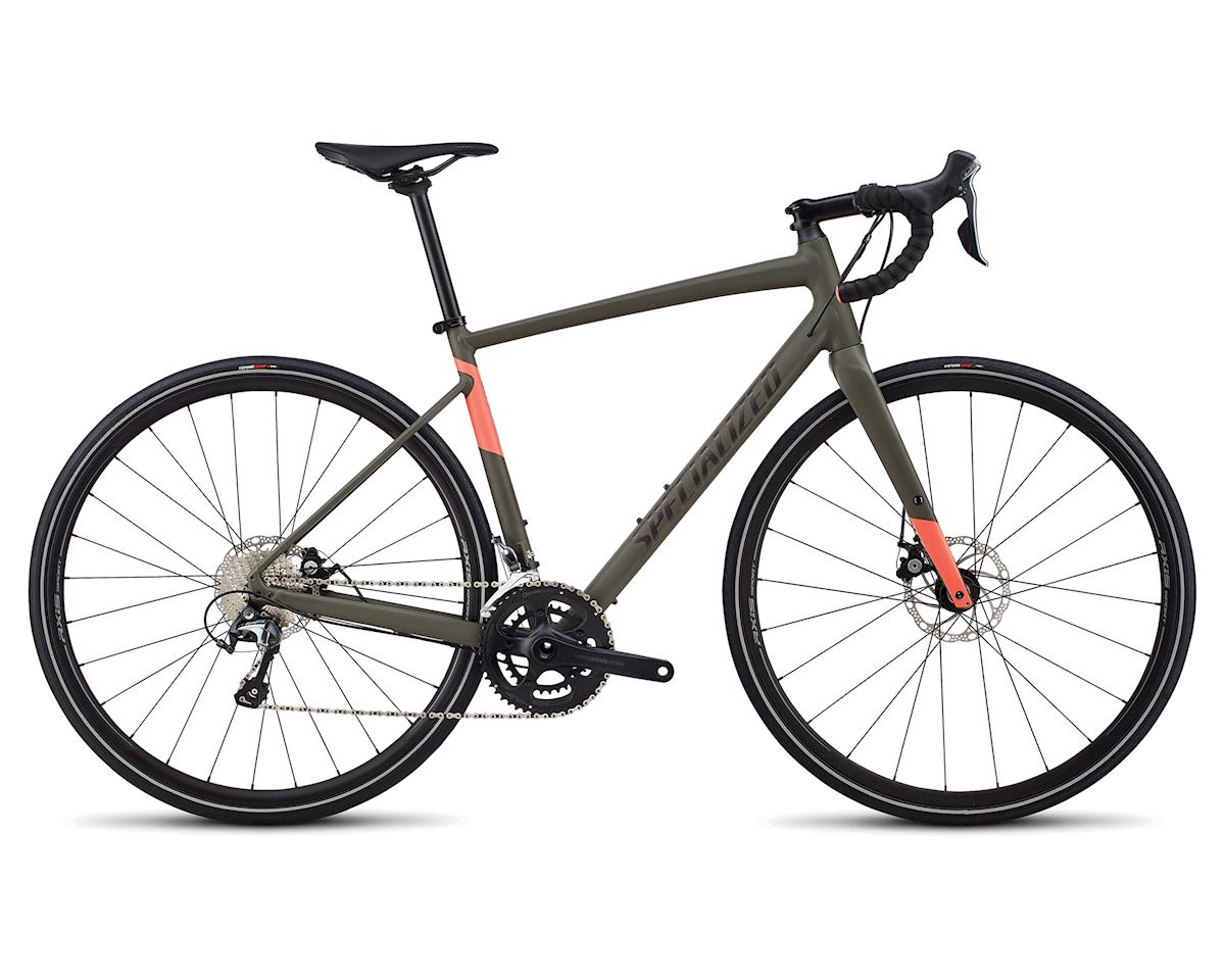 Specialized 2018 Women's Diverge E5 Elite (Oak/Acid Lava)