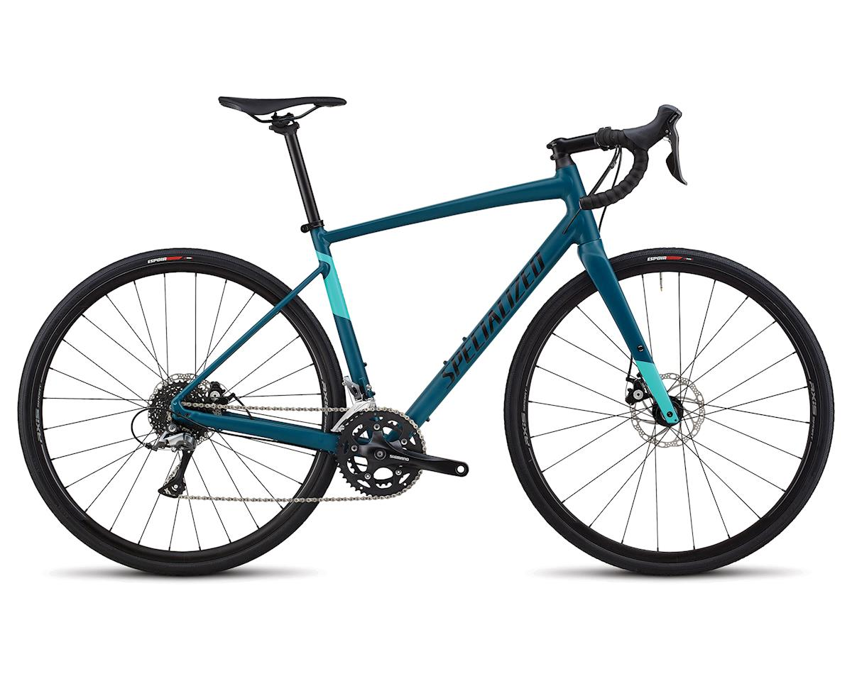 Specialized 2018 Women's Diverge E5 (Satin Tropical Teal/Tarmac Black/Acid Mint)