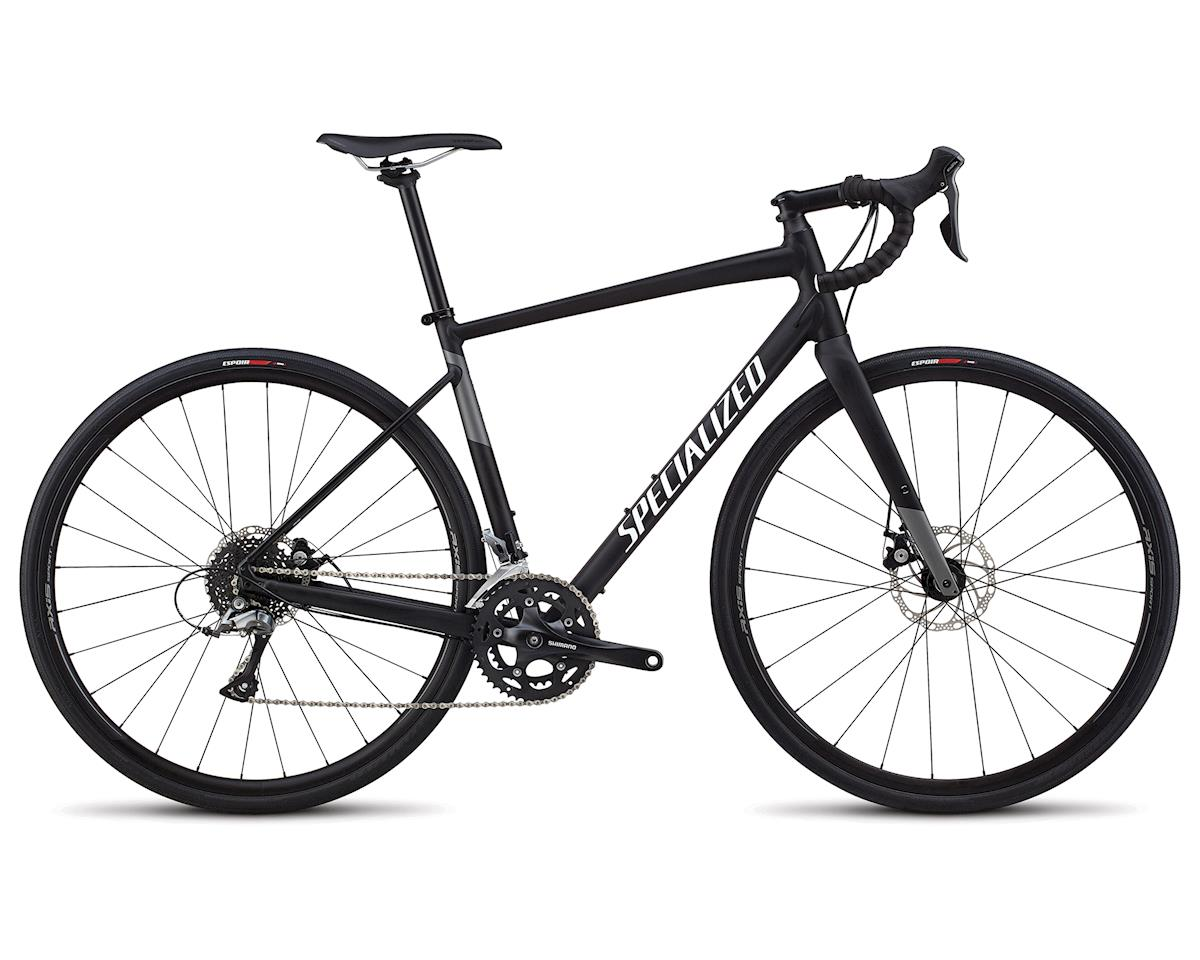 Specialized 2018 Men's Diverge E5 (SATIN BLACK / WHITE / CHARCOAL)