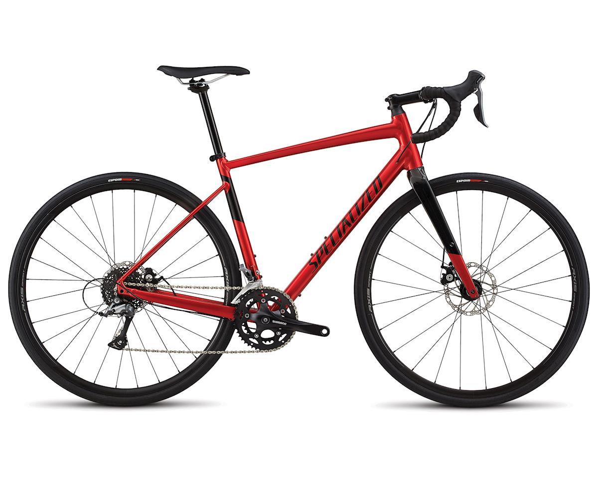 Specialized 2018 Men's Diverge E5 (GLOSS CANDY RED / TARMAC BLACK)