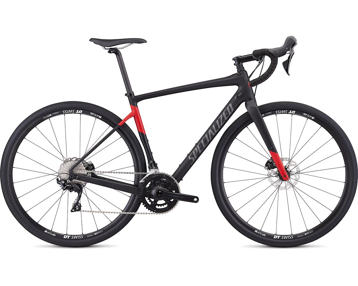 Specialized 2019 Men's Diverge Sport (Satin Tarmac Black/Flo Red)
