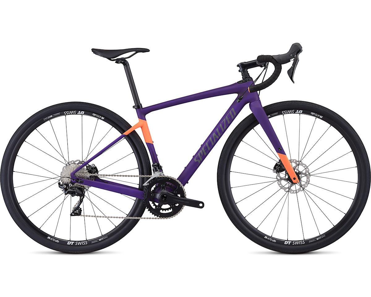 Specialized 2019 Women's Diverge Sport (Satin Plum Purple/Acid Lava)
