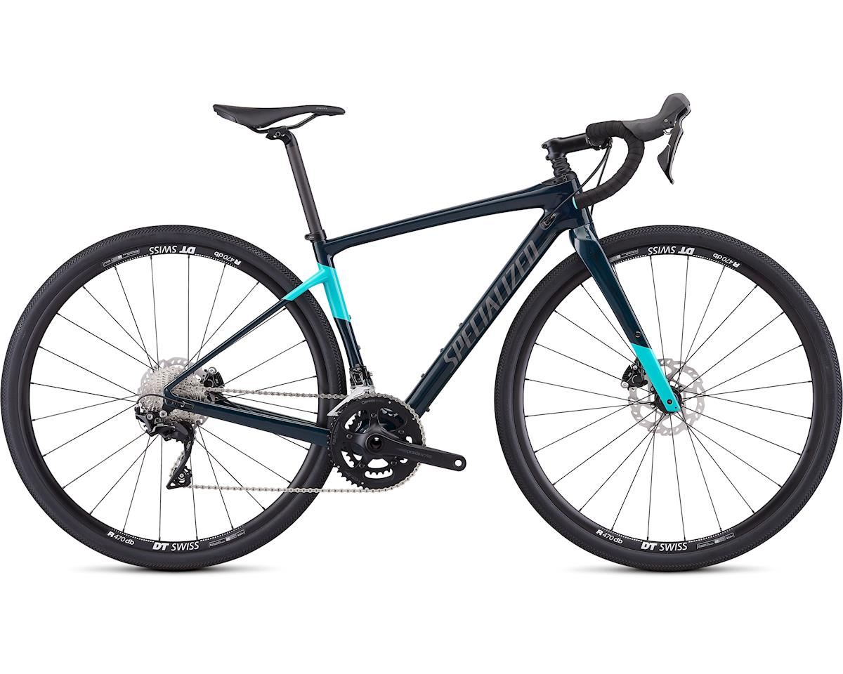 Specialized 2019 Women's Diverge Sport (Gloss Teal Tint/Acid Mint/Black)