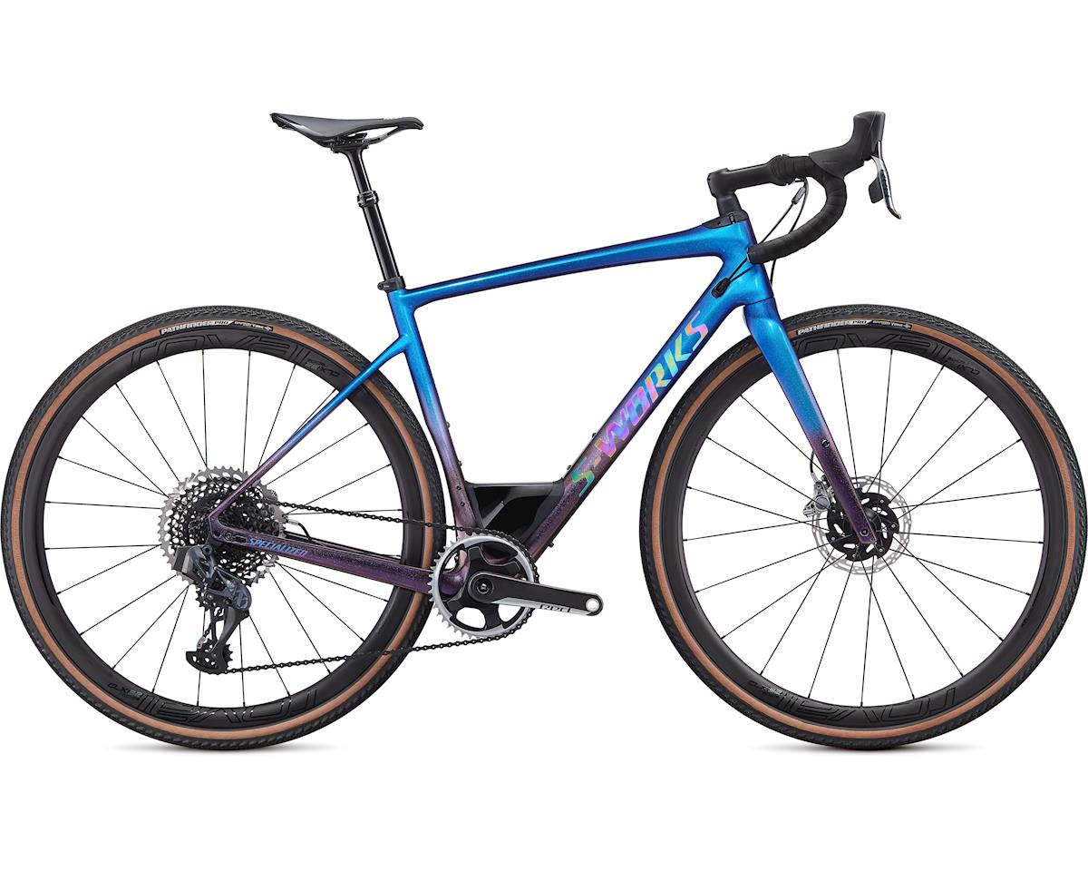 Specialized 2020 S-Works Diverge - SRAM eTap AXS (Gloss Chameleon-Sunset Chameleon Fade/Holographic Black Clean) (56)