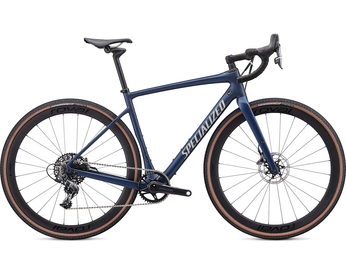 Specialized 2020 Diverge Expert (Satin Navy/White Mountains Clean) (54)
