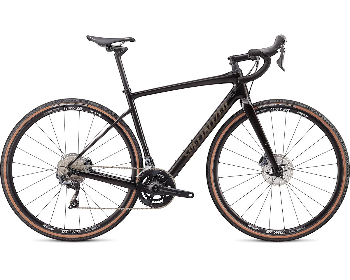 Specialized 2020 Diverge Comp (Gloss Carbon/Gunmetal Reflective Clean) (64)