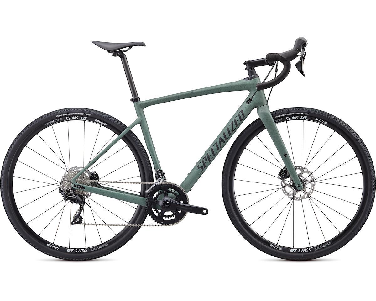 Specialized 2020 Diverge Sport (Satin Sage Green/Black/Speckle) (48)