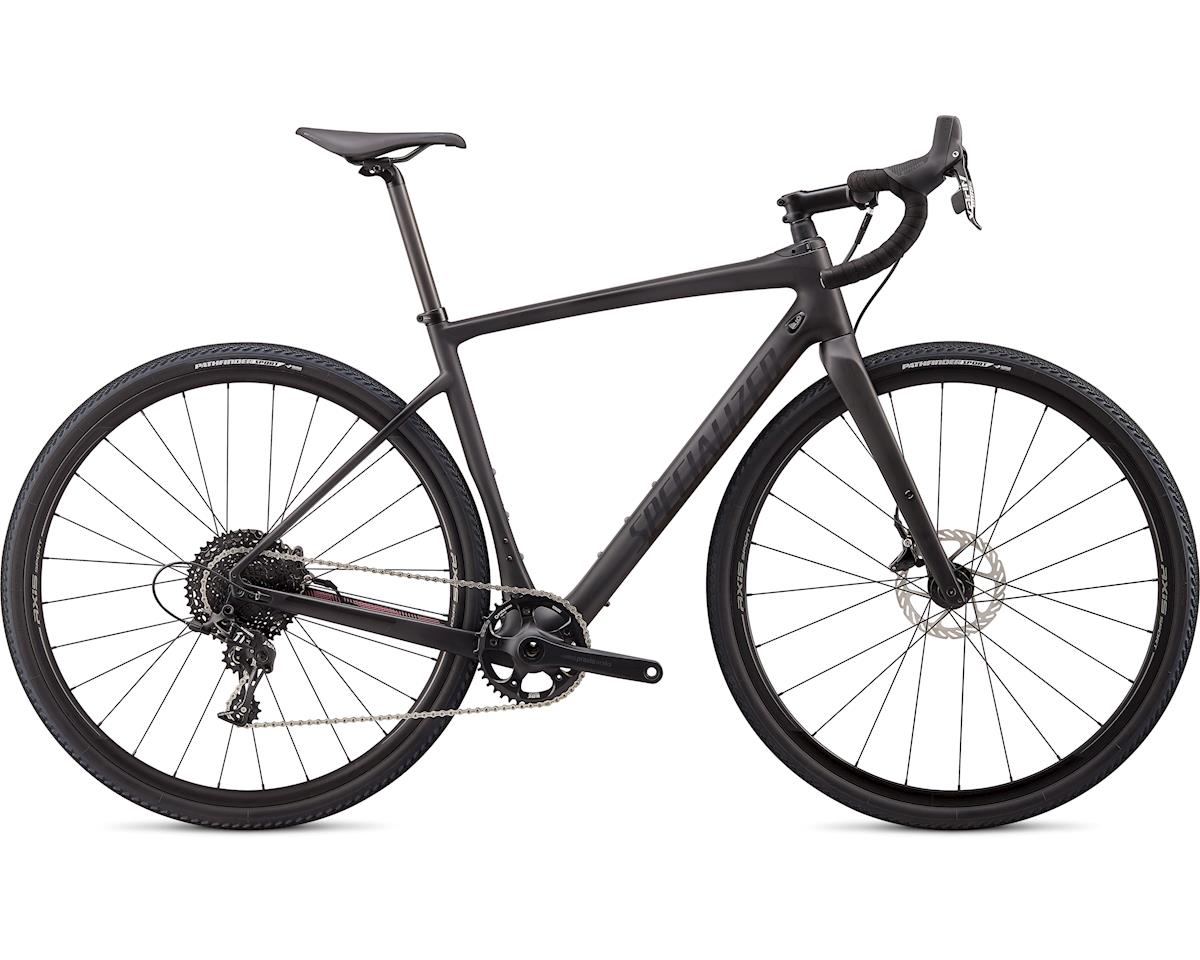 Specialized 2020 Diverge X1 (Satin Carbon/Black Reflective/Dusty Lilac Camo) (52)