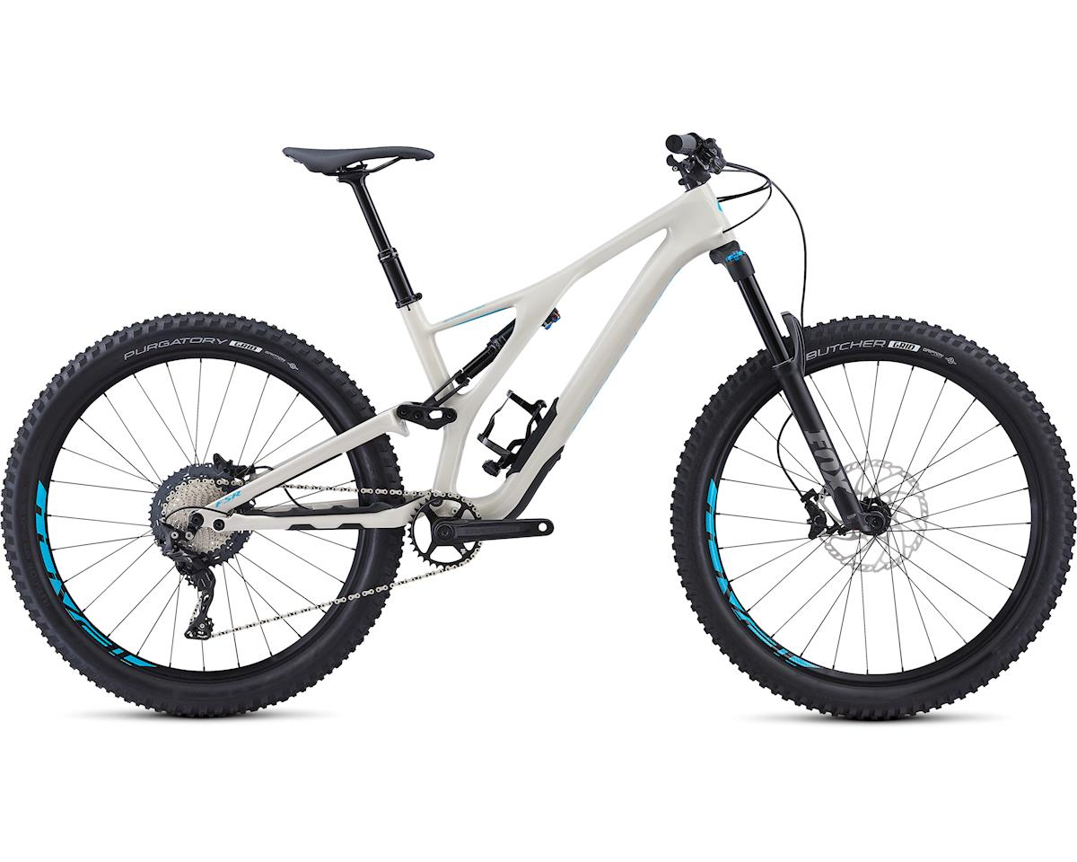 Specialized 2019 Men's Stumpjumper Comp Carbon 27.5 (Gloss/White/Nice Blue)