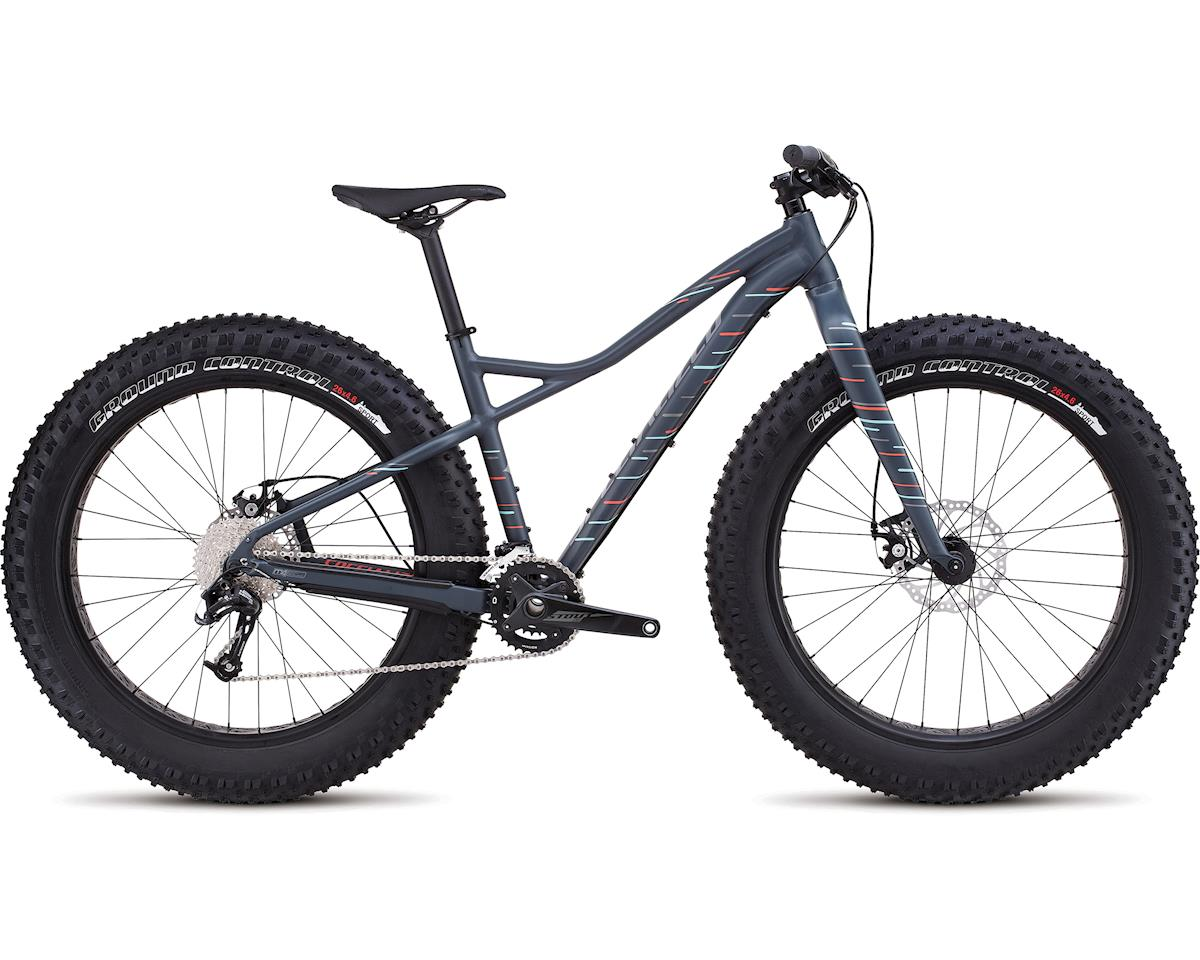Specialized 2017 Hellga (Satin Carbon Grey/Coral/Light Turquoise)