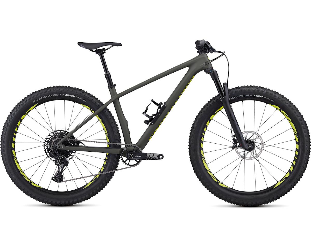 Specialized 2019 Fuse Comp Carbon 27.5+ (Satin Gloss Oak/Team Yellow)