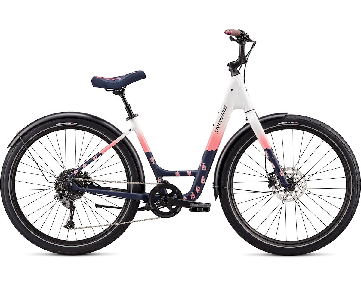 Specialized 2020 Roll Elite LTD Low-Entry - Lobster Roll (Gloss White / Pink / Satin Ferrari Blue)
