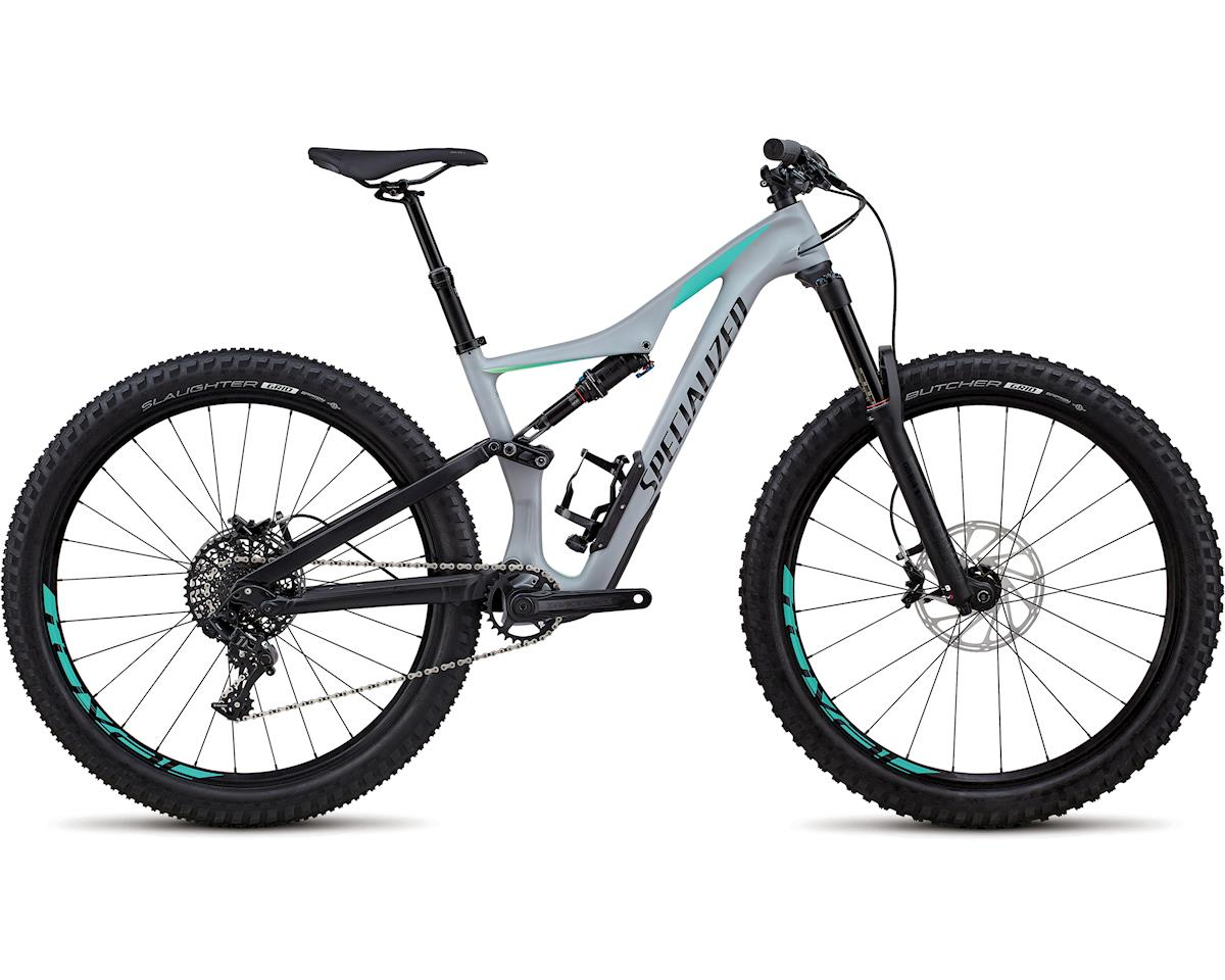 Specialized 2018 Rhyme Comp Carbon 27.5 (Satin Gloss Cool Gray / Cali Fade / Black)