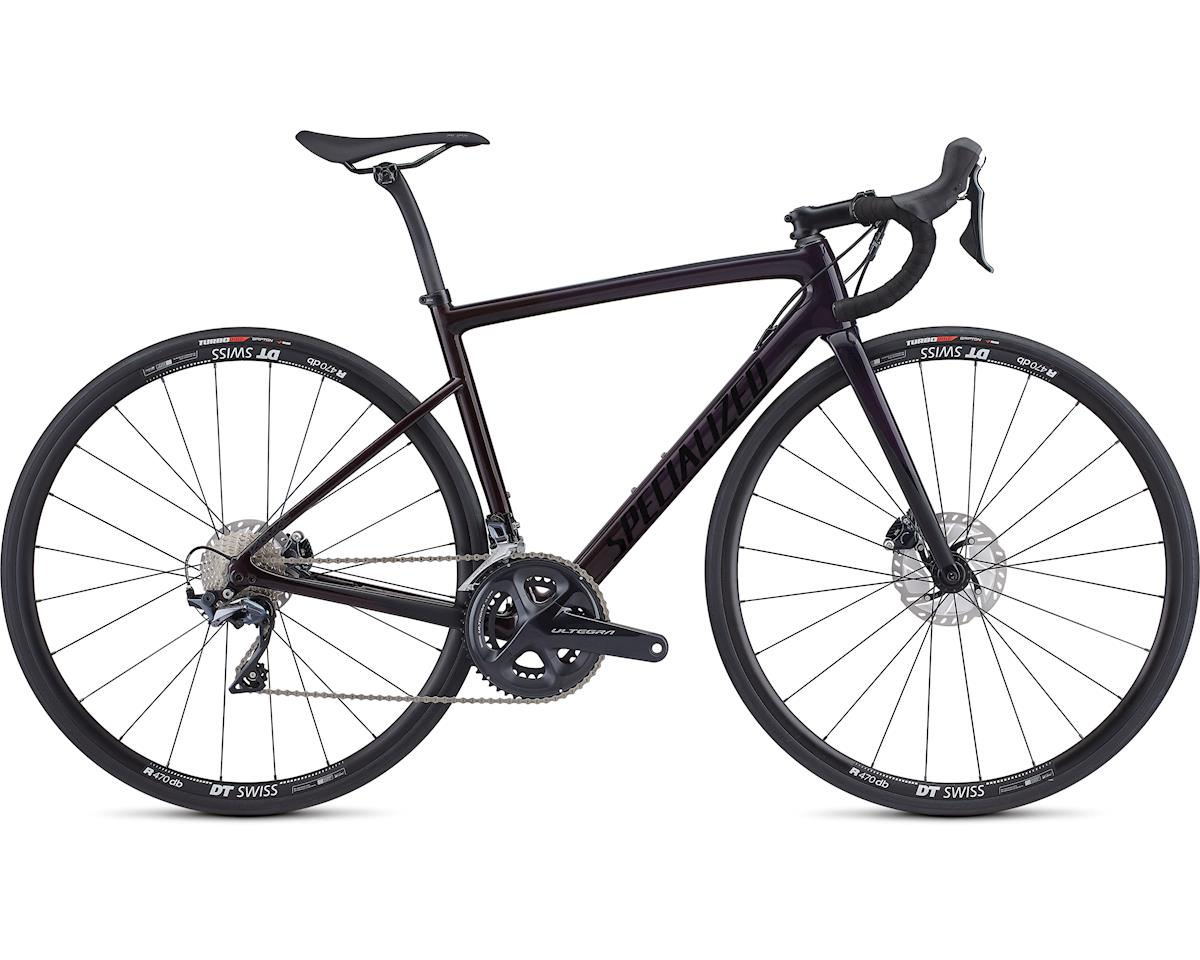 Specialized 2019 Women's Tarmac Disc Comp (Gloss Purple Tint/Red Fade/Black)