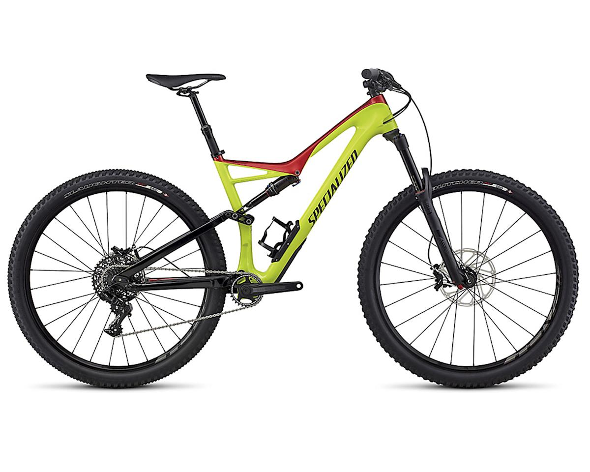 Specialized 2017 Stump Jumper FSR Comp Carbon 29 (Hyper/Candy Red/Black)