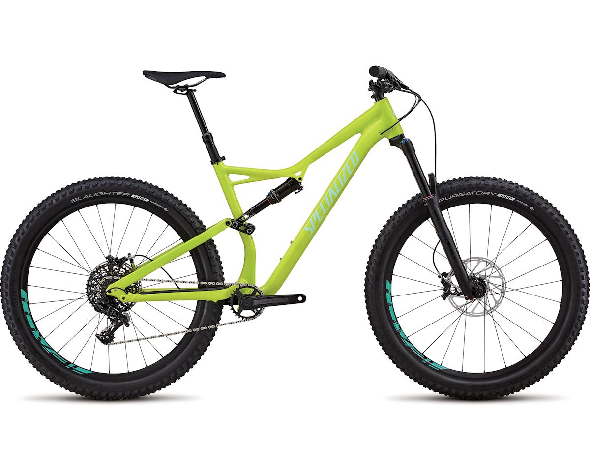 Specialized 2018 Stumpjumper Comp Alloy 6Fattie/29 (GLOSS HYPER / LIGHT TURQUOISE CLEAN)