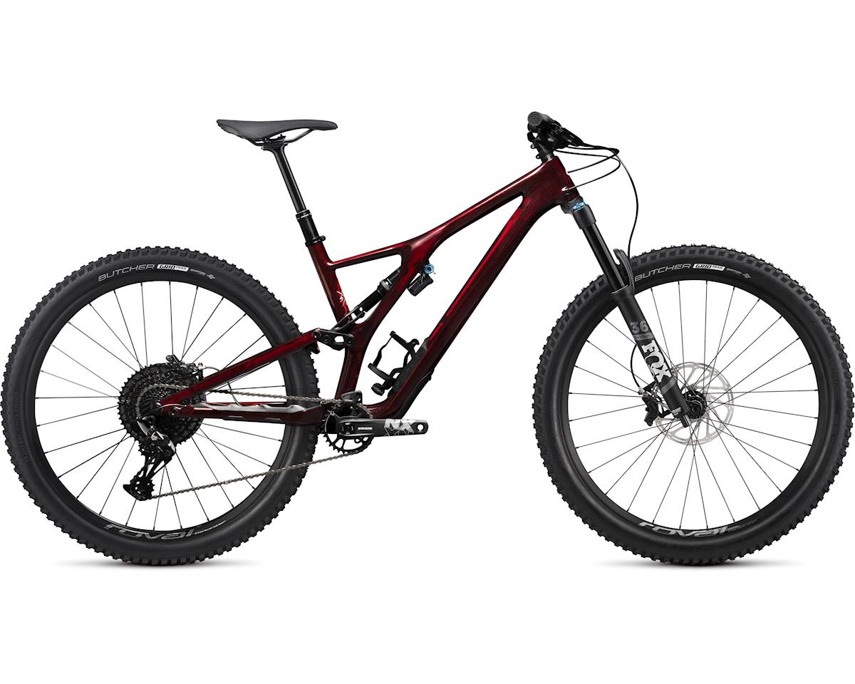Specialized 2020 Stumpjumper EVO Comp Carbon 27.5 (GLOSS RED TINT CARBON / DOVE GREY) (S2)