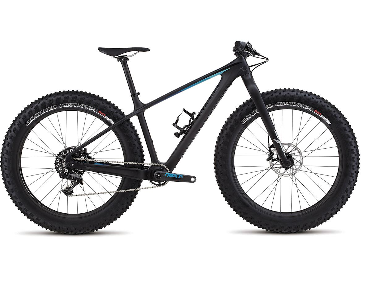 Specialized 2018 Fatboy Expert Carbon (Satin Carbon/Black/Blue Fade)