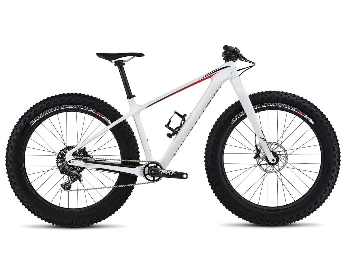 Specialized 2018 Fatboy Expert Carbon (Gloss White/Black/Red Fade)