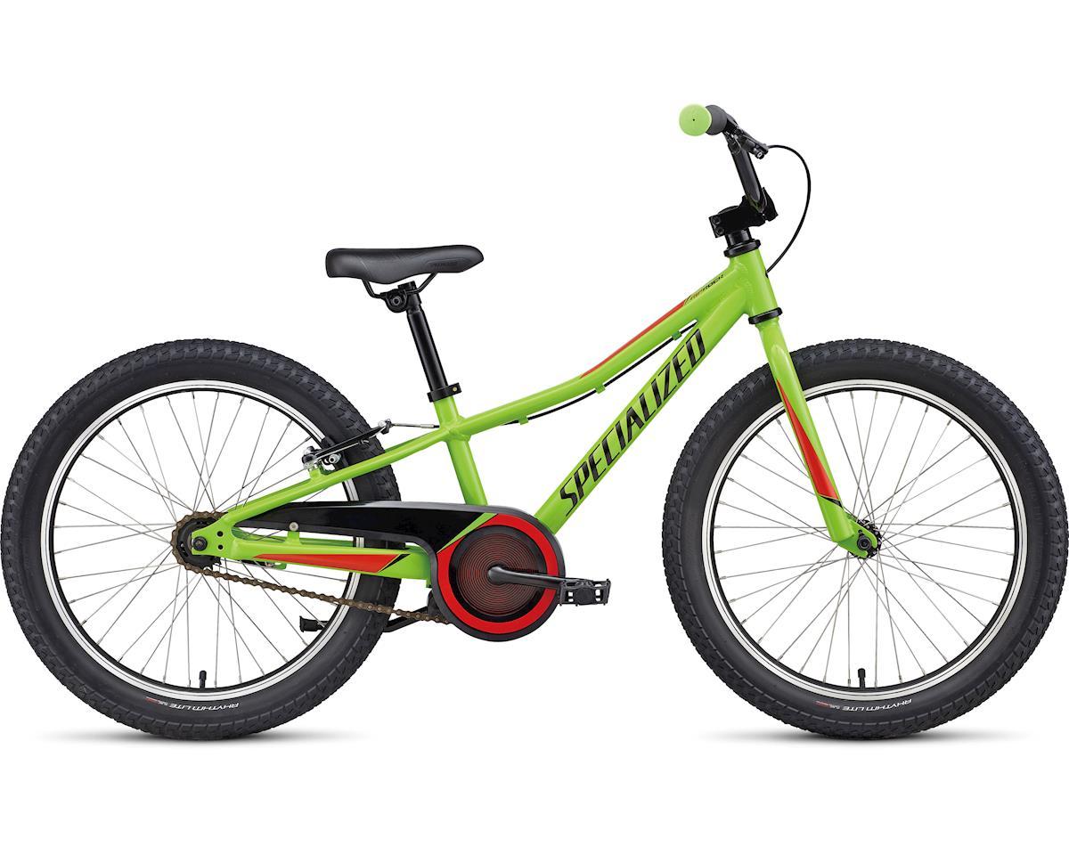 """BMX Bicycle Handlebar Steel 22.2mm Red fixie cruiser mountain bike 4/""""rise"""