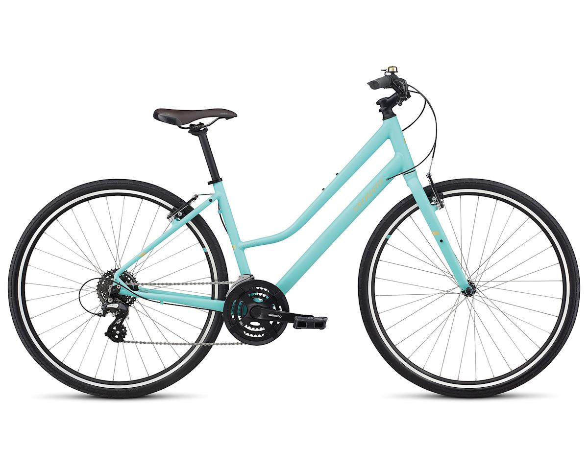 Specialized 2018 Alibi Sport Step-Through (Satin Lt Turquoise/Gold)