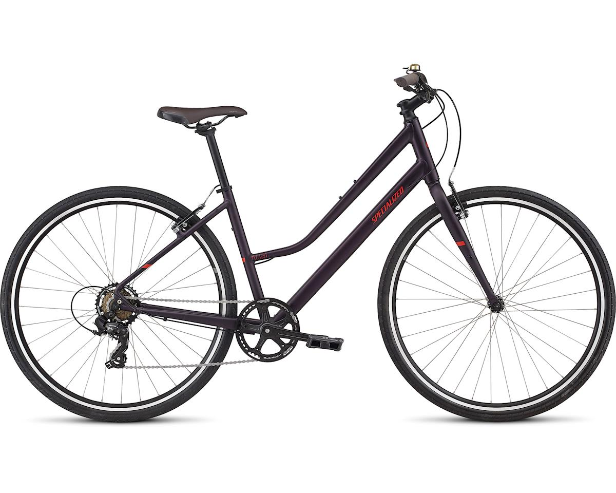 Specialized 2017 Alibi Step Through (SATIN / GLOSS PURPLE / NORDIC RED)