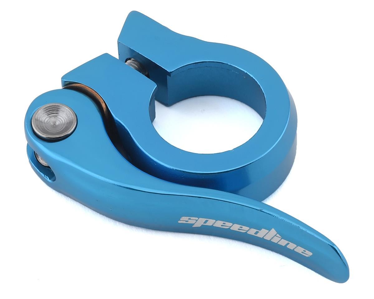 SPEEDLINE Quick Release Seatpost Clamp (Light Blue) (25.4mm)