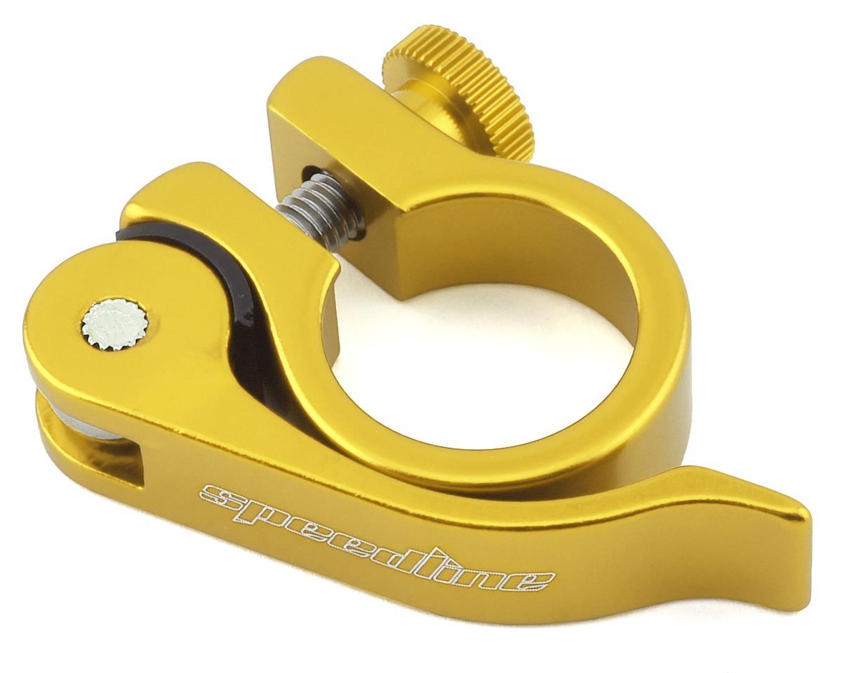 SPEEDLINE Quick Release Seatpost Clamp (Gold) (25.4mm)