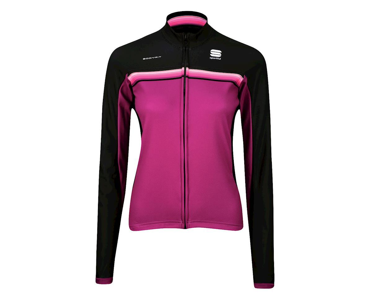 Image 3 for Sportful Women's Bodyfit Pro Thermal Long Sleeve Jersey (Purple)