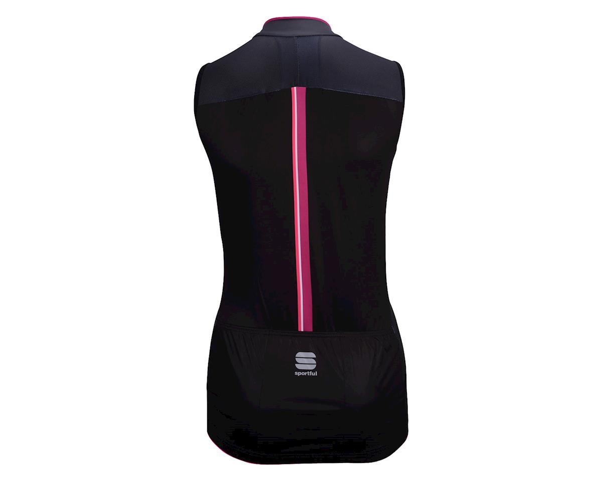Sportful Sleeveless Women's BodyFit Pro Jersey (Black/Pink)