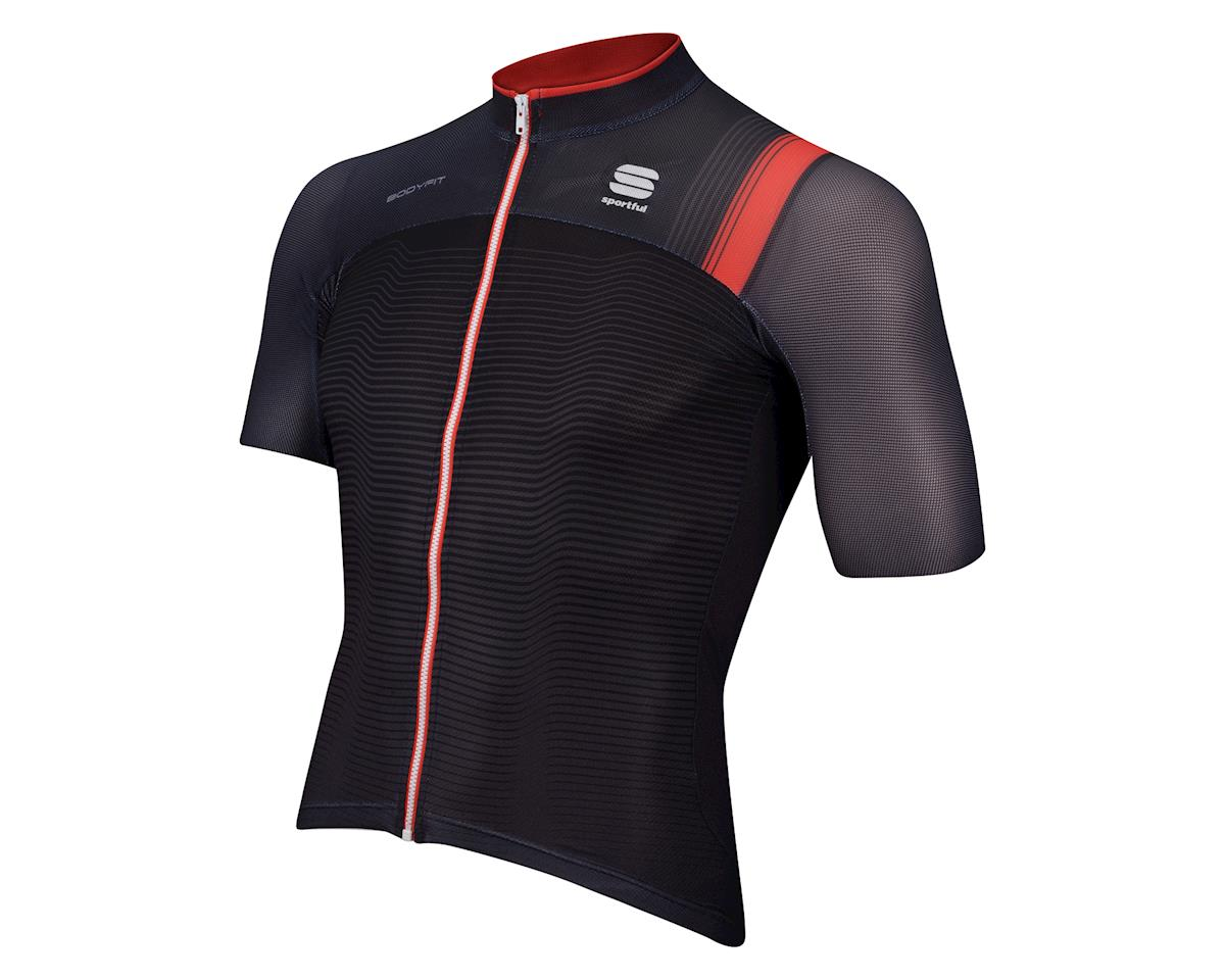 Sportful BodyFit Pro Race Short Sleeve Jersey (Black/Red)
